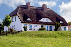 Ostsee Immobilien Rügen - Reetgedecktes Haus in Gager auf Rügen