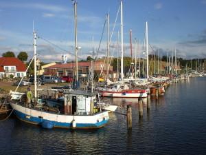 Seedorf Rügen - Romantischer Naturhafen für Fischerei- und Segelboote