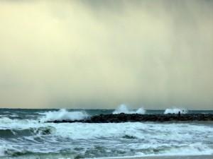 Haus am Meer Rügen - Hier: Sturm über der Ostsee