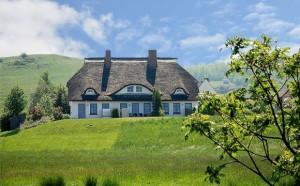 Immobilien auf Mönchgut - Ein Refugium für Ruhe und Natur - Hier: Ein zum Verkauf stehendes Ferienhaus unter Reet im Fischerdorf Gager