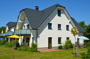 Eigentumswohnung auf Mönchgut - Hier: Neugebautes Appartementhaus mit 8 Eigentumswohnungen in Lobbe auf Mönchgut direkt am Strand.