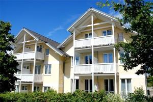 Wohnung auf Rügen als Alterssitz - Hier: Bezugsfertiges Appartement mit Westbalkon im Ostseebad Binz