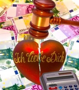Eigenheim in Binz - Was passiert im Falle einer Scheidung mit dem gemeinsam erworbenen Familienheim Hier: Ein Herz unterm Richterhammer